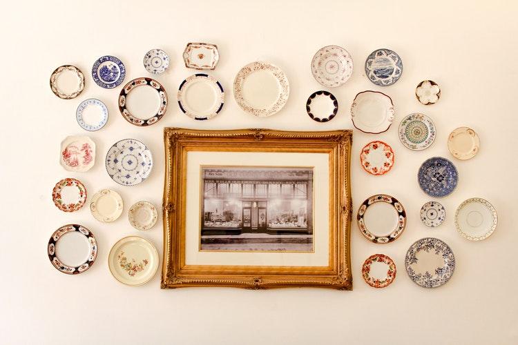 Okvirji za slike iz posebej izbranih materialov
