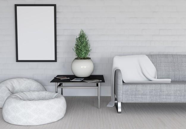 Moderne sedežne garniture lahko kupimo v salonu pohištva