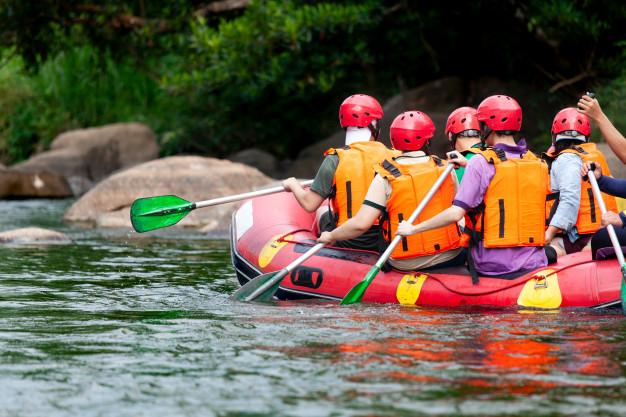 Kajak in rafting na Soči