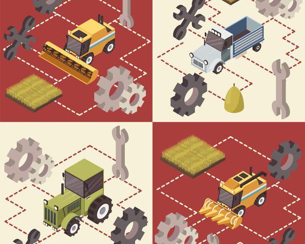 Zanesljivi traktorji in njihovi rezervni deli