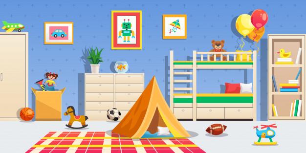 Otroško veselje v novi otroški sobi